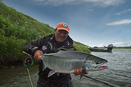 salmon fishing for five different Alaska species