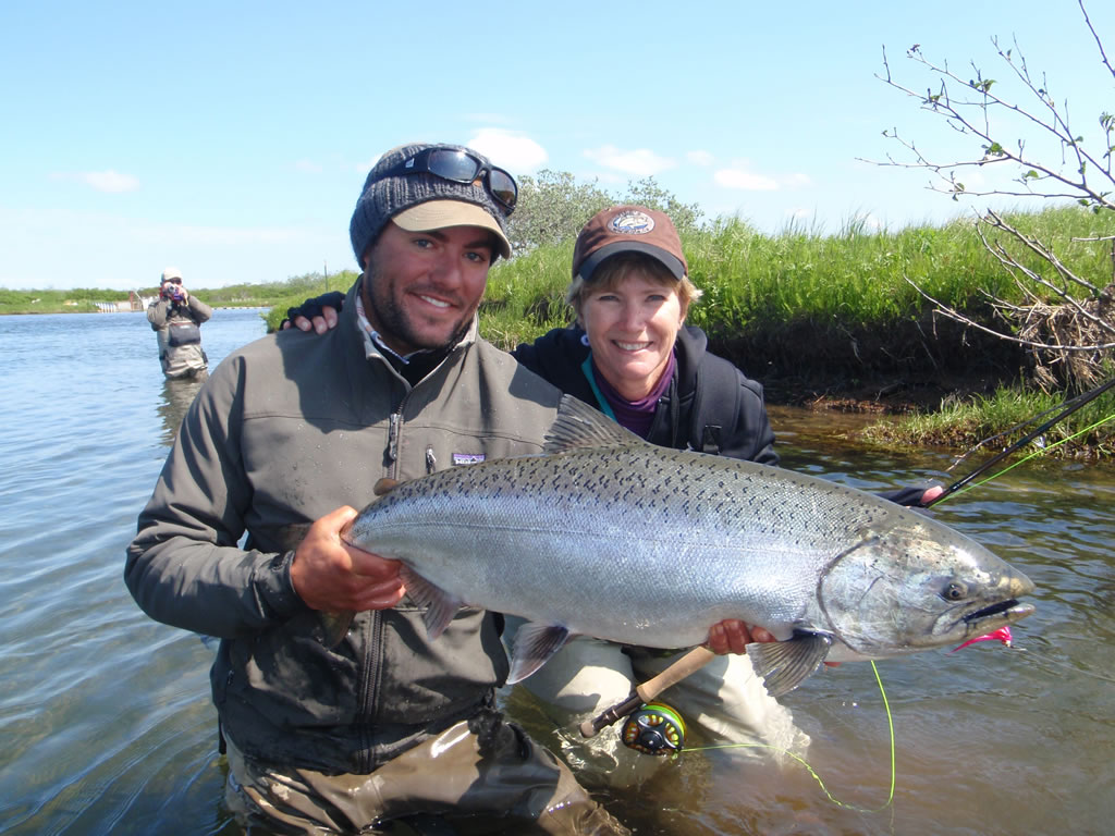 Sandy river king salmon adventure for Salmon fishing anchorage