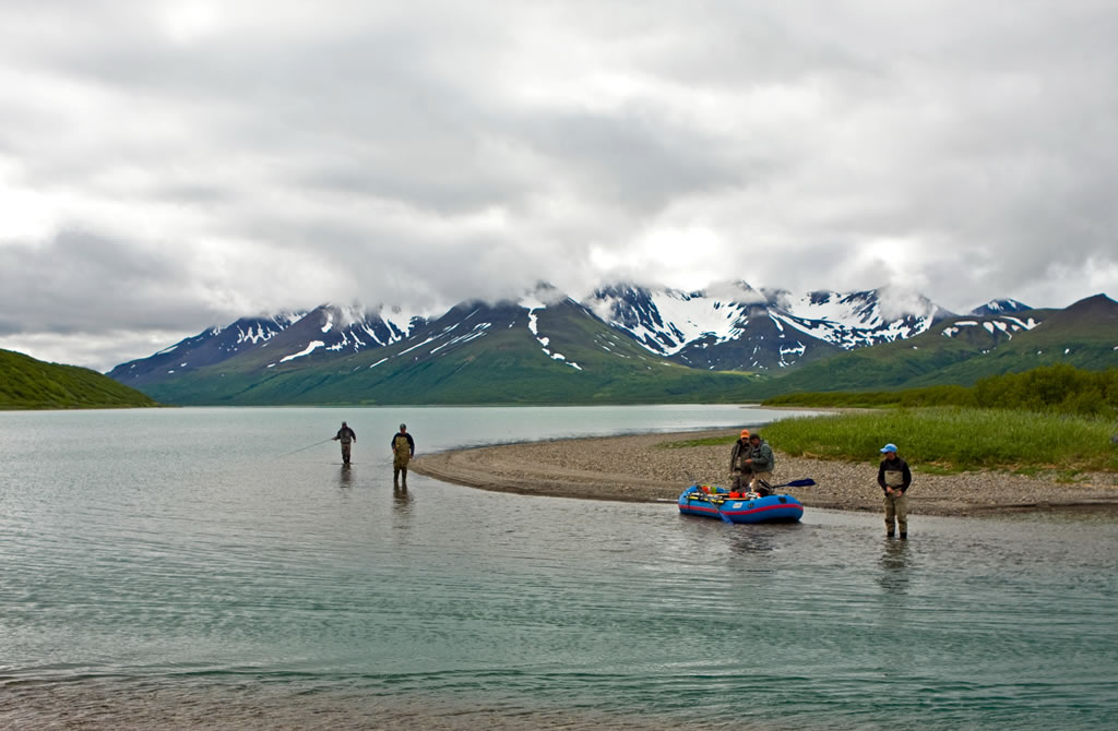 Alaska fly fishing lodge the best time to go fishing for Best time to go fishing today
