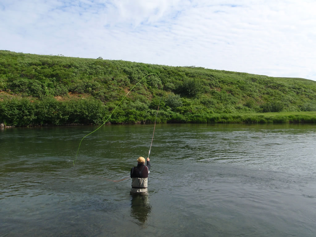 Alaska fly fishing lodge fly out float trip or jet boat for Alaska fly fishing