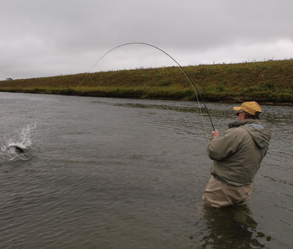 Alaska fly fishing lodge fly out float trip or jet boat for Fly fishing alaska