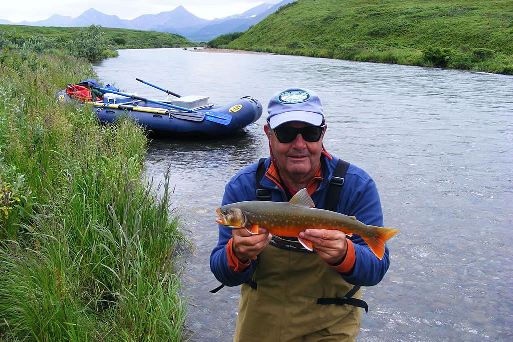 Alaska sport fishing lodge arctic char fishing for Alaska sport fishing
